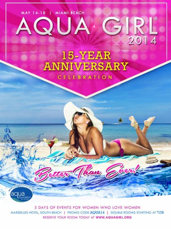 aqua girl lesbian event