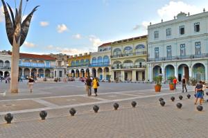Plaza Vieja of Havana cuba
