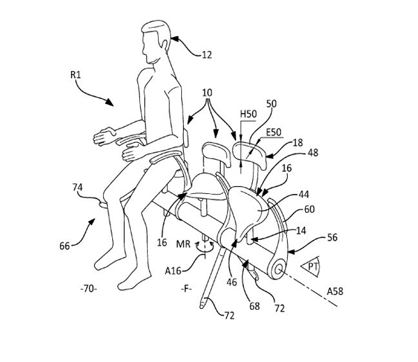 Airbus-patent small airline seats