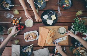 gay meal sharing travel